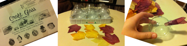 How-to: Simple Autumn Leaf Ornaments