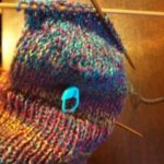 In Progress: Knitting My First Sock Heel