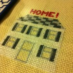 How-to: Custom Home Sweet Home Cross Stitch