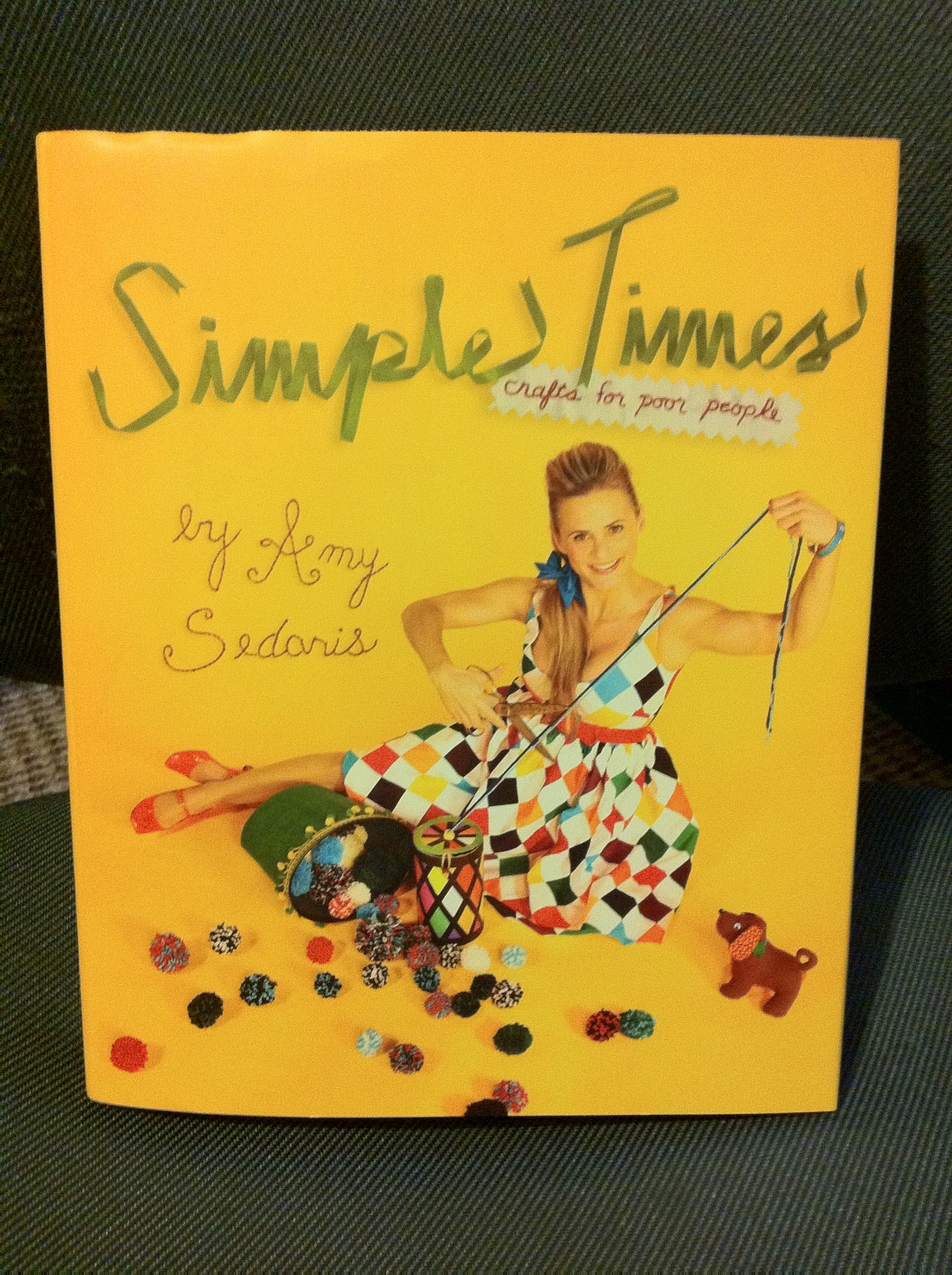 How to: Statistics Cross Stitch Inspired by Amy Sedaris