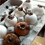 How-to: DIY Chocolate Eggs with Shells