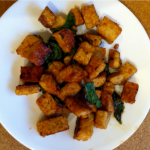 Vegan Vittles: Smoky Seared Tempeh & Swiss Chard