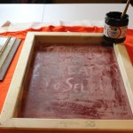 How-to: Basic Screenprinting