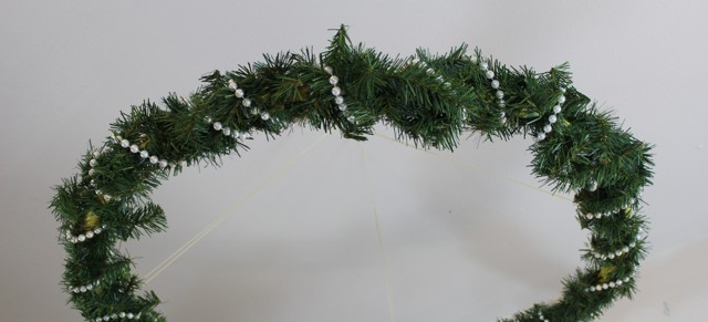 How-to: Dining Room Wreath