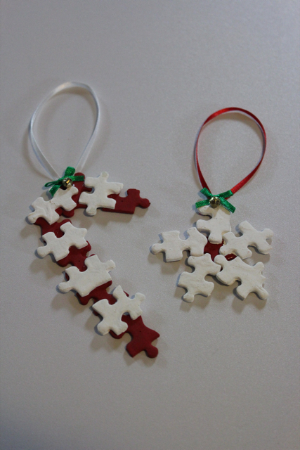 Spare Puzzle Piece Ornaments