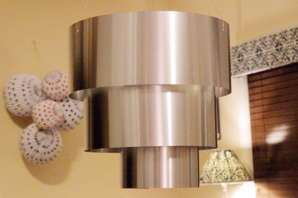 How-to: Aluminum Tiered Pendant Light Fixture