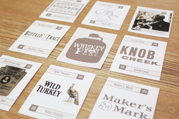 How-to: Make a Custom Card Game // WHISKEY PIT!