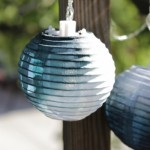 How-to: Dip Dye Mini Nylon Lanterns