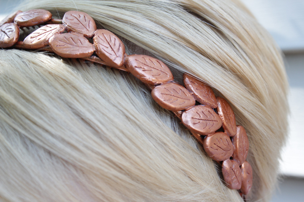 How-to: Bronze Laurel Headband