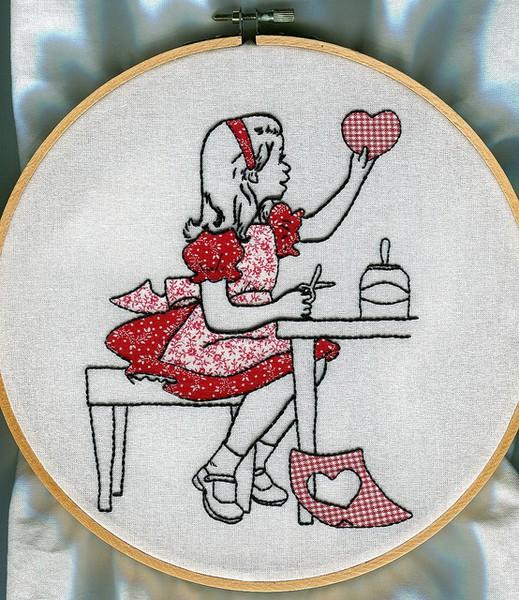 Vintage Embroidery Transfer Inspiration
