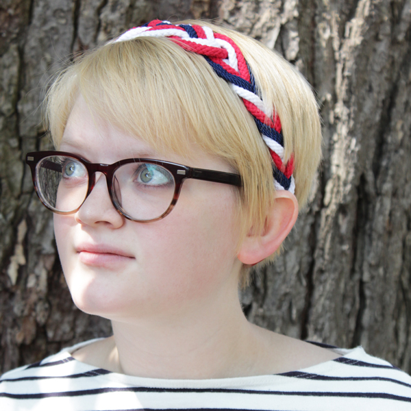 How-to: Nautical Headband