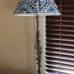 My Family's Crafts: Silver Clarinet Lamp