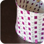How-to: Ribbon Lampshade Redo | HandsOccupied.com for blog.GoodSmiths.com