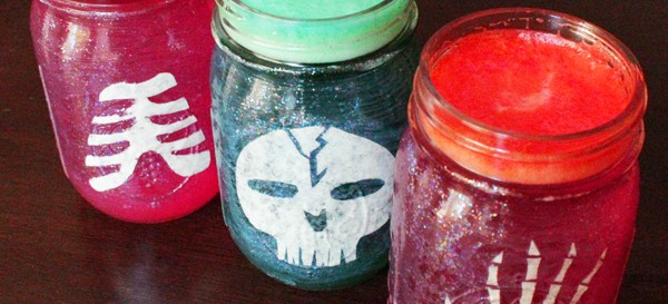 How-to: Halloween Party Jars
