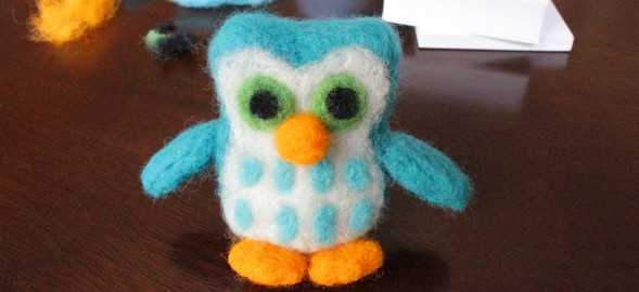 How-to: Beginning Needle Felting