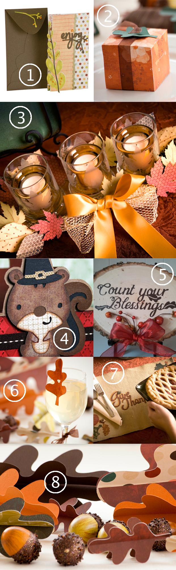 Top 8 Cricut Thanksgiving Projects & Cricut Mini Giveaway | HandsOccupied.com