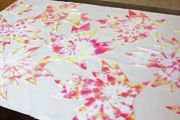 How-to: Autumn Tie-Dye Tablecloth | HandsOccupied.com