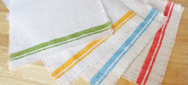 How-to: Tribal Placemats & Table Runner