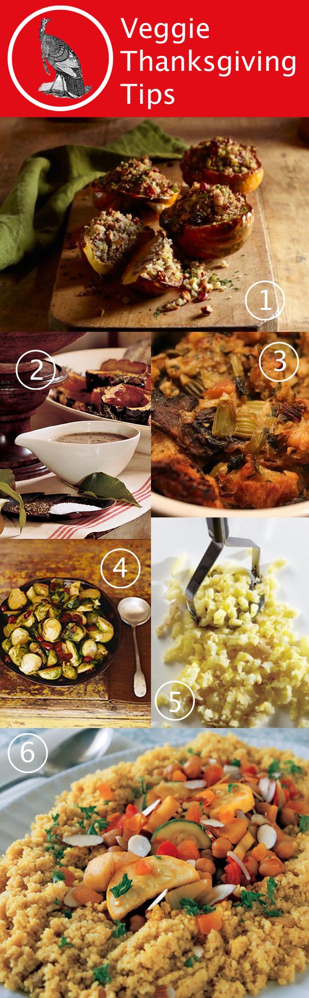 Vegetarian Thanksgiving Tips & Ideas | HandsOccupied.com