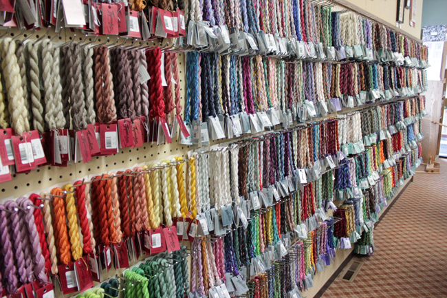 Nordic Needle Store Tour | HandsOccupied.com
