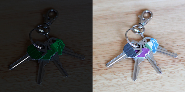 How-to: Glow-in-the-Dark Key Toppers at HandsOccupied