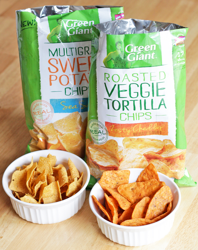 New Green Giant Veggie Chips