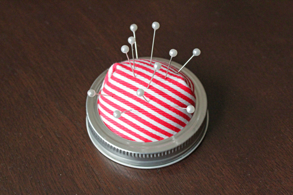 No Sew Pin Cushion