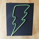How-to: Faux Neon Sign