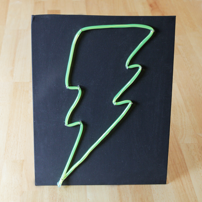 How-to: Faux Neon Sign at HandsOccupied.com