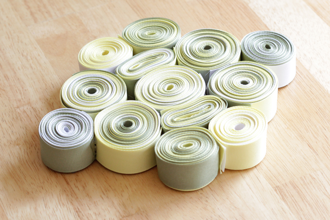 ribbontrivet9How-to: Recycled Ribbon Trivet at HandsOccupied.com