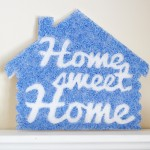 How-to: Home Sweet Home Cabin Sign