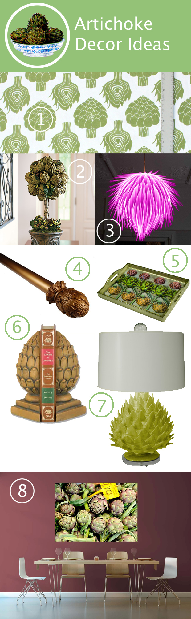 Artichoke Decor Ideas at HandsOccupied.com