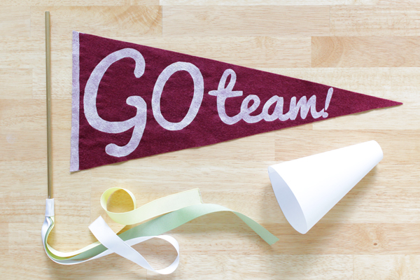 How To Easy Vintage Style Pennant