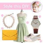 Style this DIY: Flower Headband