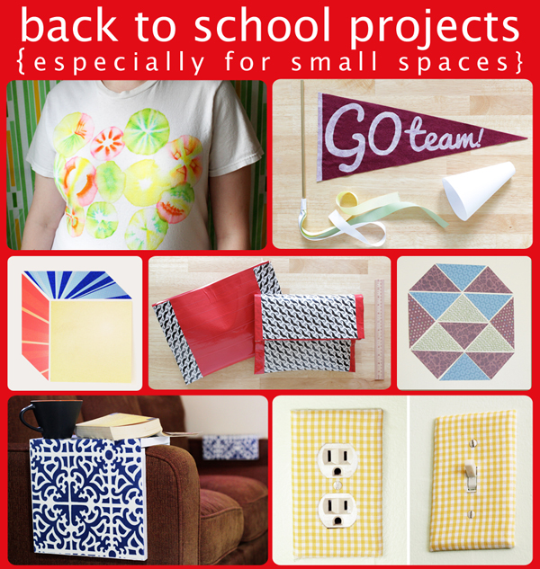 Back to School Project Roundup | Hands Occupied