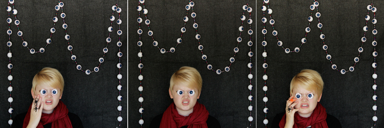 How-to: Spooky Eyeball Garland - Hands Occupied