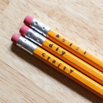 How-to: Simple Stamped Pencils