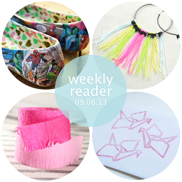 Weekly Reader 09.06.13 | Hands Occupied