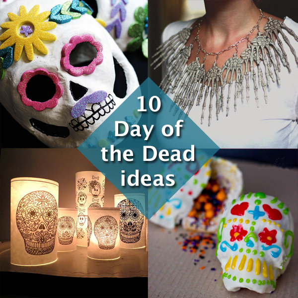 Day of the Dead / Dia de los Muertos Inspiration at Hands Occupied