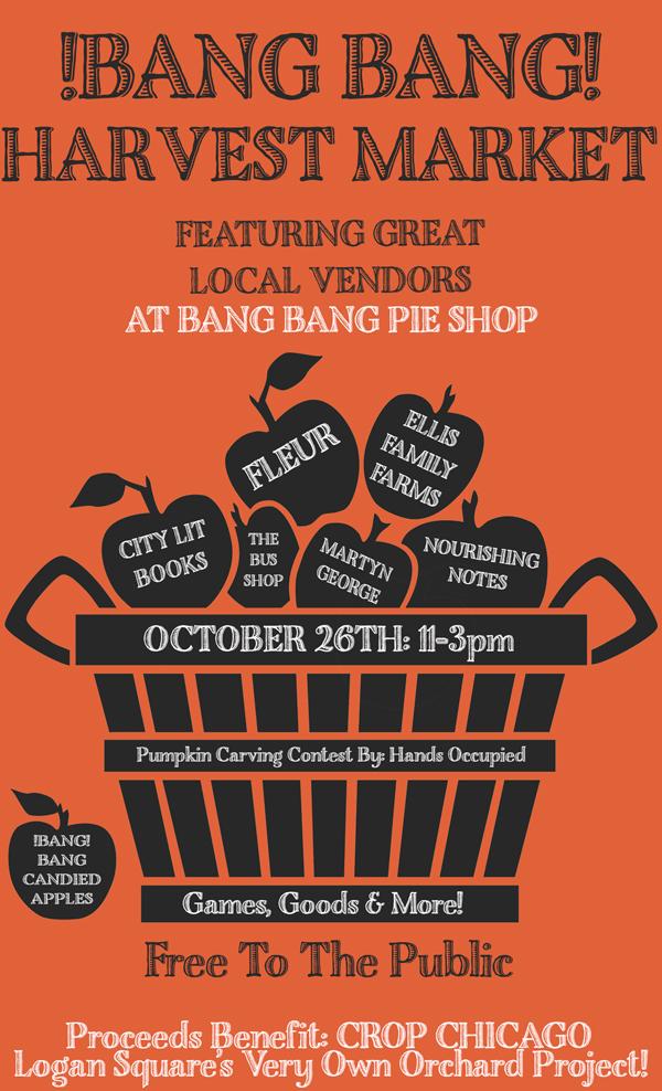 Bang Bang Pie Harvest Market via Hands Occupied