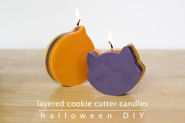 How-to: Layered Cookie Cutter Candles at Hands Occupied