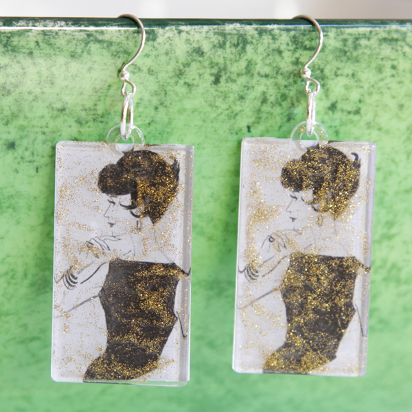 How-to: Vintage-Inspired Earrings | Hands Occupied