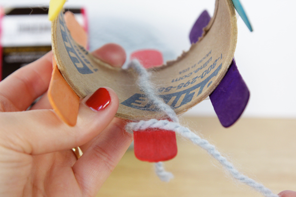How To Diy A Knitting Loom Knit With It