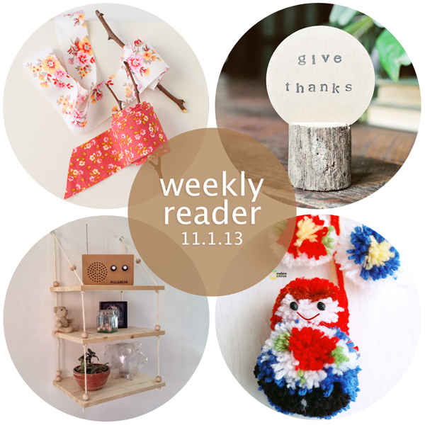 Weekly Reader 11.1.13 | Hands Occupied