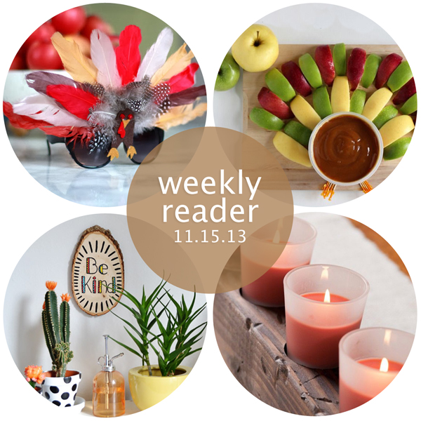 Weekly Reader 11.15.13 | Hands Occupied
