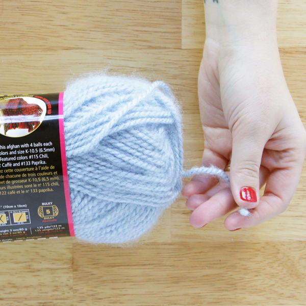DIY FYI: Starting a Skein of Yarn | Hands Occupied