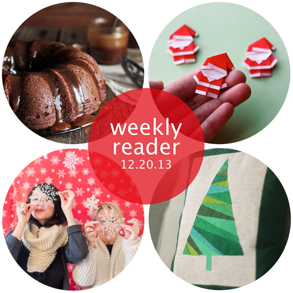 Weekly Reader 12.20.13 | Hands Occupied
