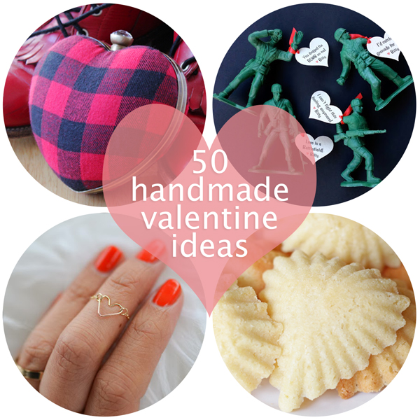 50 Handmade Valentine Ideas at Hands Occupied