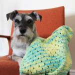 Staggered Holes Baby Blanket Knitting Pattern