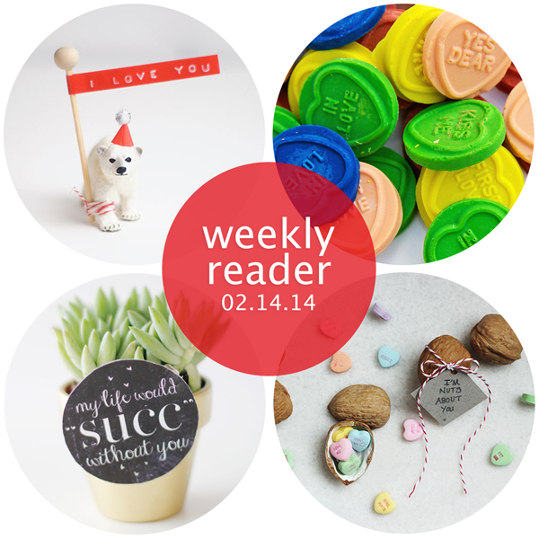 Weekly Reader 02.14.14 | Hands Occupied